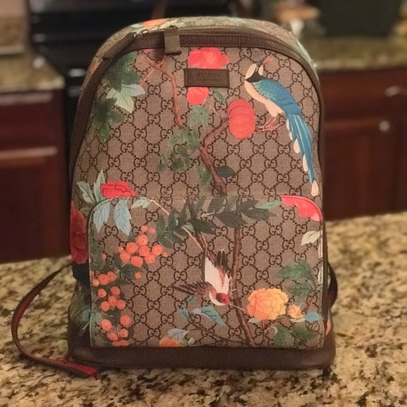 59c9004df2b190 Gucci Bags | Authentic Tian Supreme Backpack | Poshmark